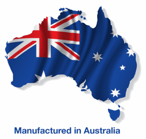 Manufactured in Australia