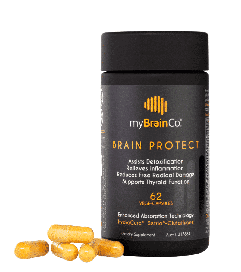 Brain Protect with capsules - Liver detoxification