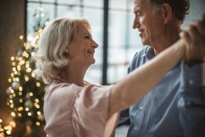 What is dementia - Older Couple Happy Healthy Dancing